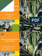 III Ciclo de Conferencias de la piña. Nutrición optima del cultivo dirigido a la exportación.