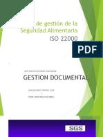 ISO 22000 Seguridad Alimentaria