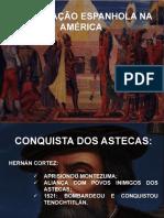 Colonizacao Espanhola e Inglesa Na America