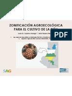 III Ciclo de Conferencias de la Piña ZONIFICACIÓN AGROECOLÓGICA PARA EL CULTIVO DE LA PIÑA