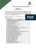 Resultados FIT 2010-Corte 02