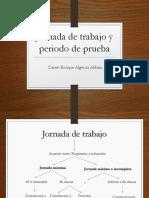 Jornada de Trabajo y Periodo de Prueba Colombia