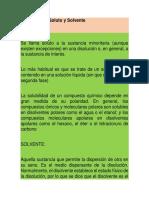 5.1.-Definición de Soluto y Solvente.