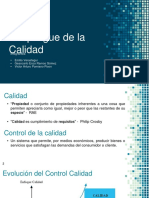 QFD - Función Despliegue de La Calidad Rev2