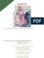 Literatura Ocidental II Trabalho Sobre a DIVINA COMÉDIA Transparência