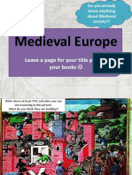 medieval europe introduction ppt