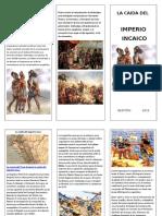 Imperio Incaico Triptico