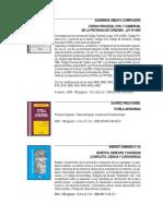 Catálogo Alveroni Ediciones 2010
