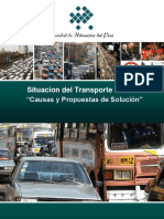 Situacion de Transporte en Lima