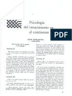 Historia de La Psicología Sahakian DESCARTES