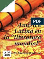 Sánchez Prado Ignacio, América Latina en La Literatura Mundial