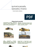 Maquinaria Pesada, Semipesada y Liviana FINAL