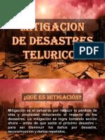 Mitigacion de Desastres Teluricos