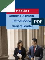Derecho Agrario y Ambiental - Lectura Módulo I