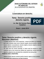 Derecho Positivo y vigente (1).pptx