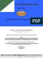 MSS Historical Compendium
