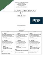 Multi Grade Lesson Plan in English1