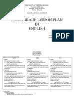 Multi Grade Lesson Plan in English2