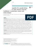 Prevalence of Hepatitis B in People Living With HI