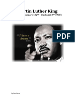 martin luther king - by eric