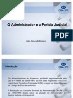 O administrador e a perícia judicial