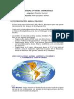 Perfil Geografico Foro
