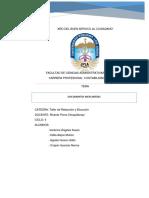 Monografia de Investigacion Redaccion