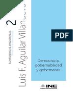 Democracia, gobernabilidad y gobernanza