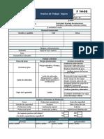 F14-05 ATS Análisis de Trabajo Seguro (1) Montaje