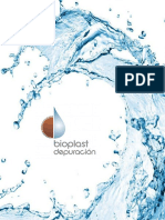 Dossier Bioplast Depuracion 2014. Tratamiento de Aguas Residuales