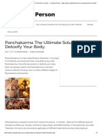 Panchakarma the Ultimate Solution to Detoxify Your Body. - Complete Person - Https___www.completenaturecure