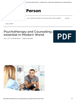 Psychotherapy and Counseling as an Essential in Modern World - Complete Person - Https___www.completenaturecure
