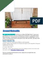 Hicksville, NY High School alumni Newsletter for  2017 November