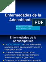 Enfermedades de La Adenohipofisis