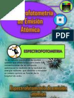 Espectometria de Emision Atomica