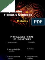 Propiedades Fisicas y Quimicas de Los Metales