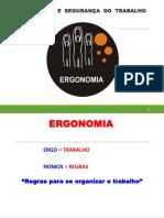 Apresentação Sobre Ergonomia