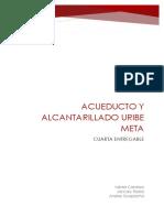 Proyecto Acueductos y Alcantarillados