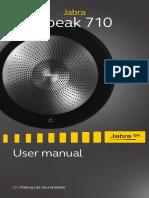 Jabra Speak 710 User Manual RevB En