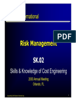 Risk Management SK.02