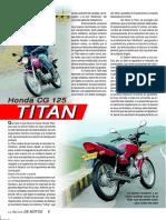 Honda CG125 Titan Ed18