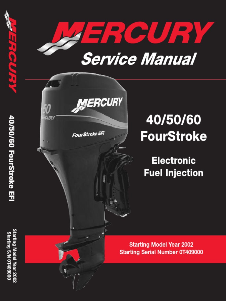 14450589-Repair_Manual_Mercury_40_50_60_Hp_Outboard_2002-2007 | Piston |  Cylinder (Engine)