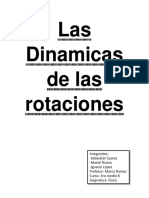 Informe de Fisica  (Dinámica rotatoria)