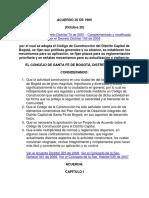 Acuerdo 20 de 1995