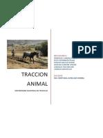 Traccion Animal