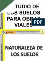 ESTUDIO DE SUELOS PARA OBRAS VIALES