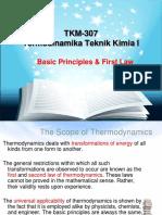 Basic Principle & 1st Law