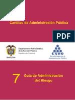 Guia de Administración del Riesgo - DAFP