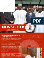 Office of the Senate President Newsletter. Week of Monday, October 23rd to Friday, October 27th