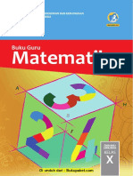 Buku Guru Kelas 10 Matematika